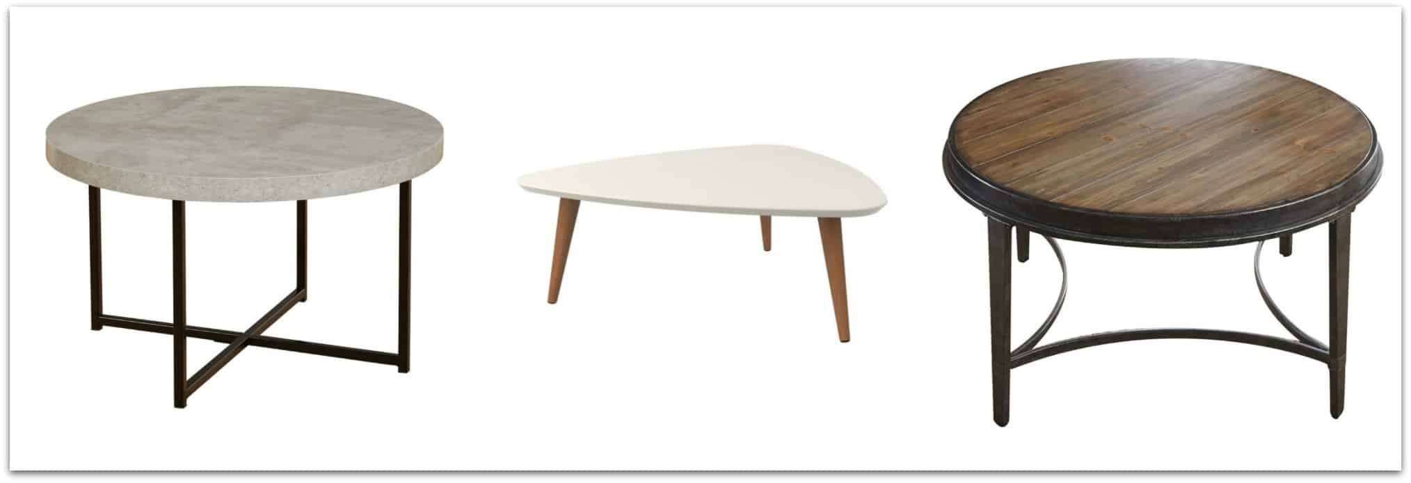 Coffee tables for a Transitional Style home