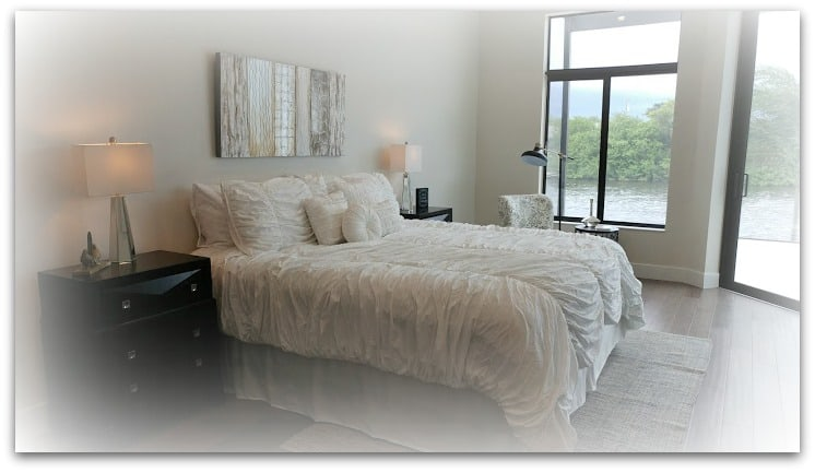 Transitional Style Master Bedroom