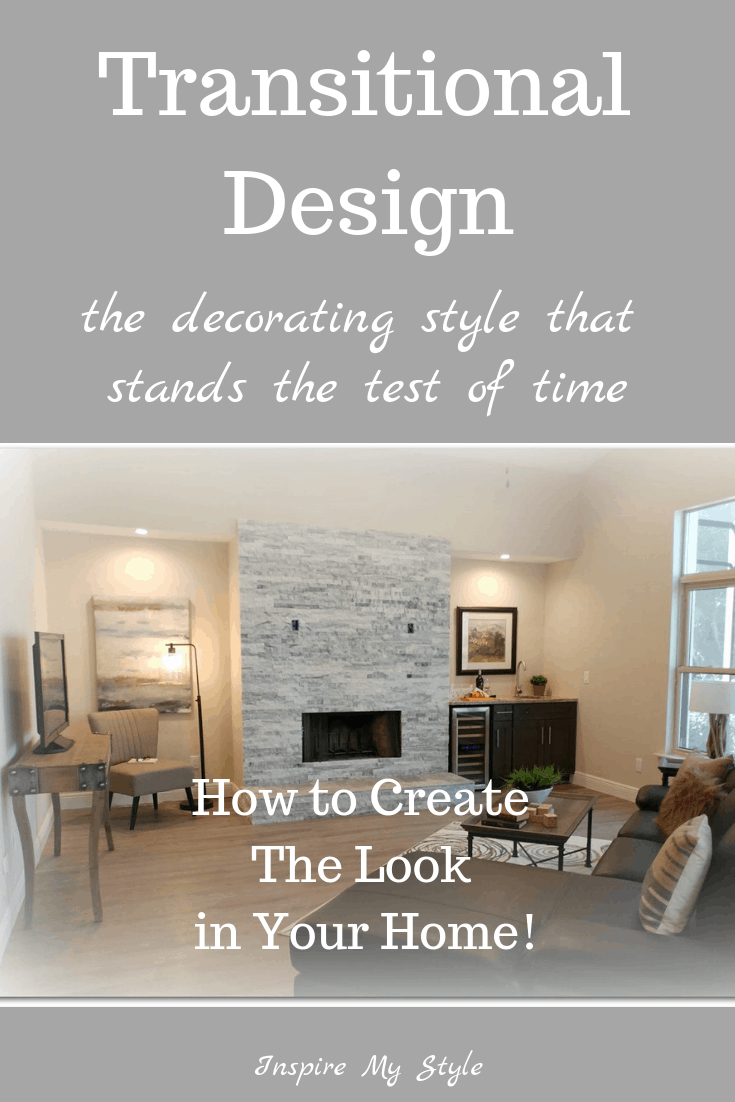 Transitional Design is a simple, budget friendly style that works for so many lifestyles and generations. It is clean and simple, with just the right touch of traditional and contemporary married together. DIY decorators will love this tutorial! #transitionaldesign #decoratingstyle #DIYhomedecor #budgetdecorating