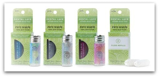 Dental Lace Zero Waste dental floss