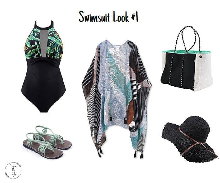 Do's and Don'ts of Swimsuit Fashion After 50 including stylish ensembles for the pool or beach.