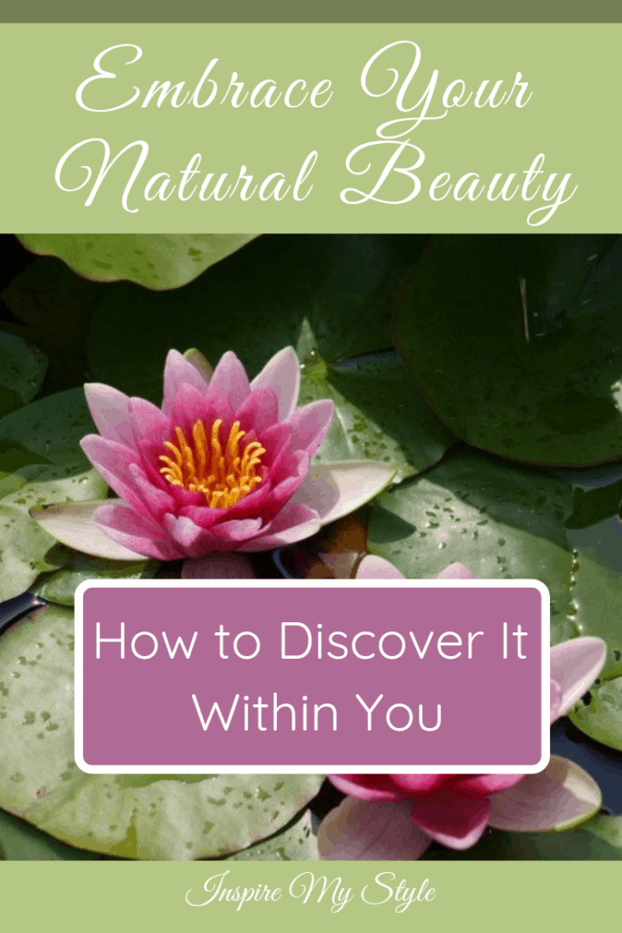 Discover how to embrace the natural beauty within you as you travel through midlife.