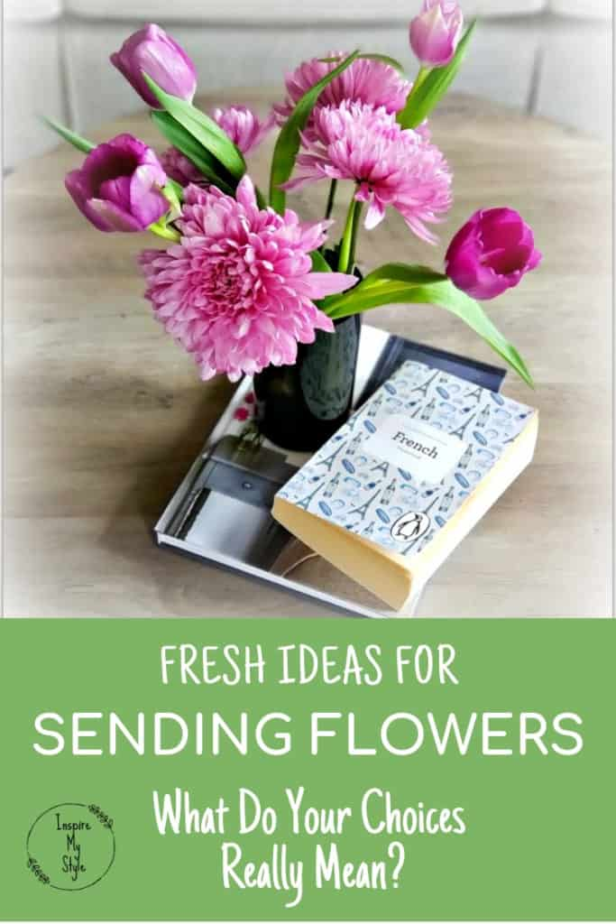 Fresh Ideas for Sending Flowers. What do your choices really mean? Learn the meaning of flower species and ideas for when they are most appropriate to send. Find great online sources for sending flowers, too!