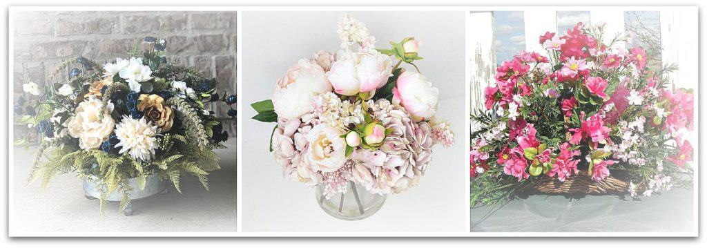 silk floral arrangements from Etsy make a wonderful choice when sending flowers