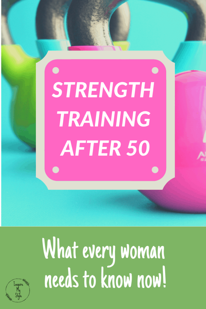 Strength training after 50 - what every woman needs to know now!