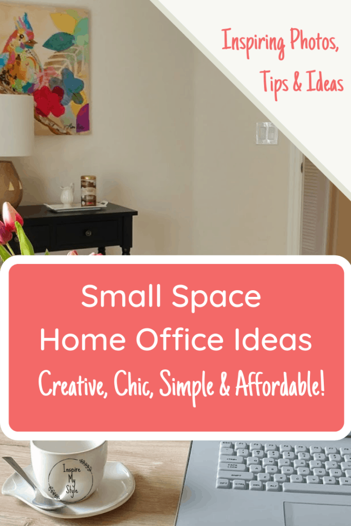 Small space home office ideas that are creative, chic and affordable