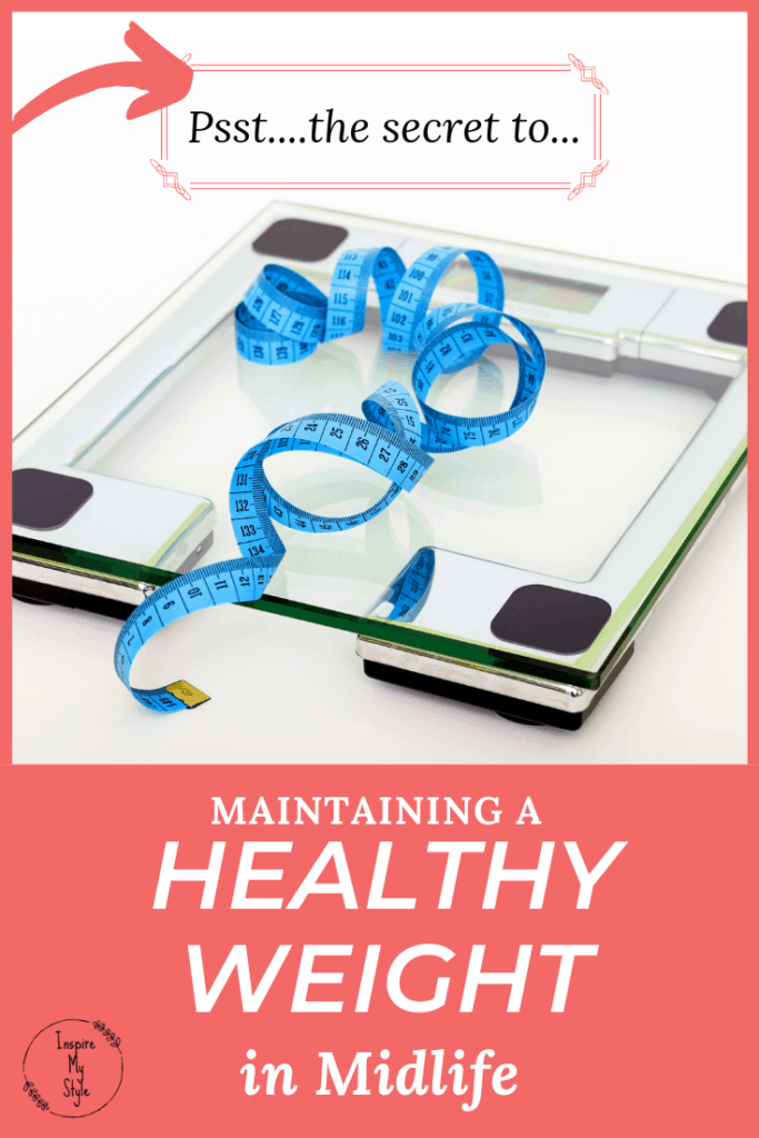 The secret to maintaining a healthy weight in midlife