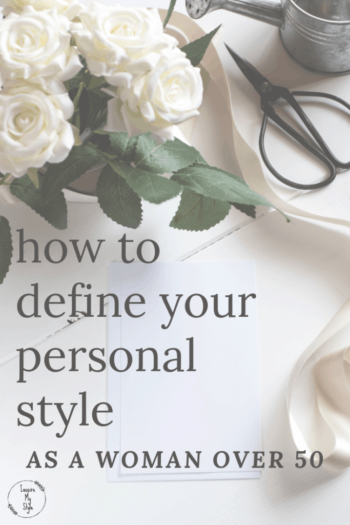 How to define your personal style as a woman over 50