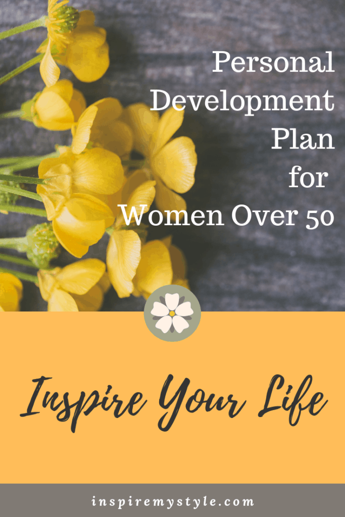Inspire Your Life - a personal development plan for women over 50