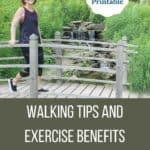 walking tips and exercise benefits for women over 50