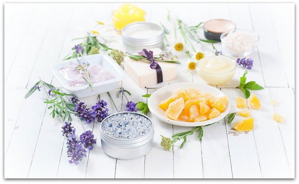 DIY self care kit for women over 50
