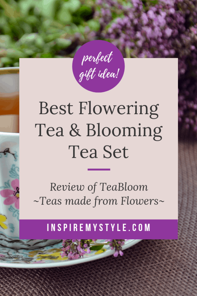 best flowering tea and blooming tea set