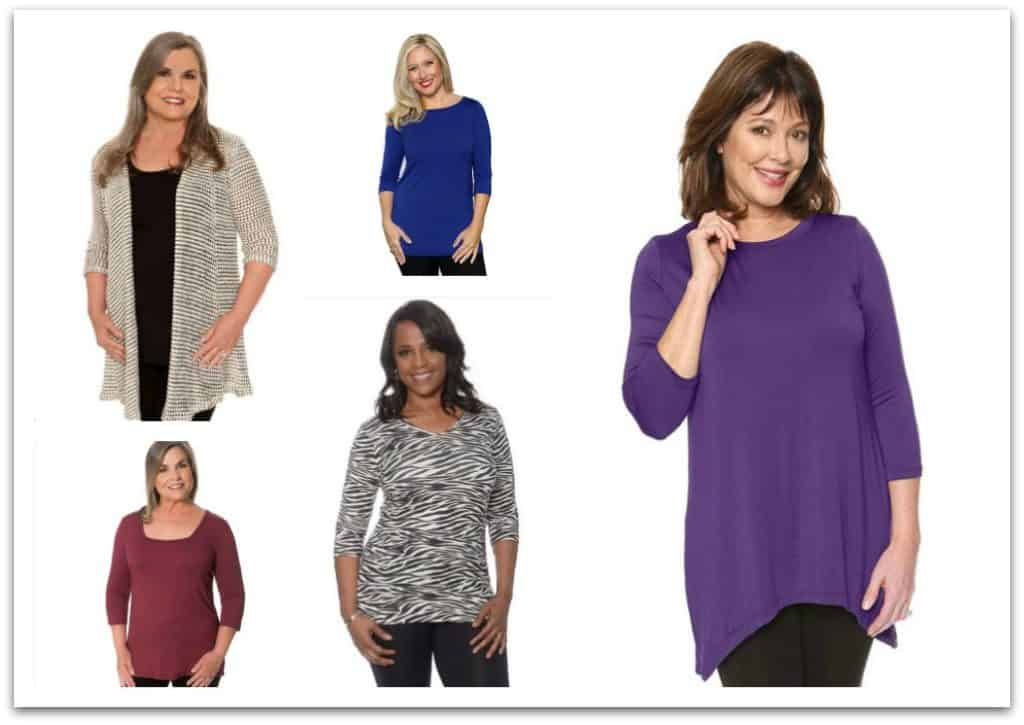 cute, casual tops for women over 60 from Covered Perfectly