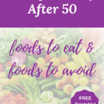 eating healthy after 50
