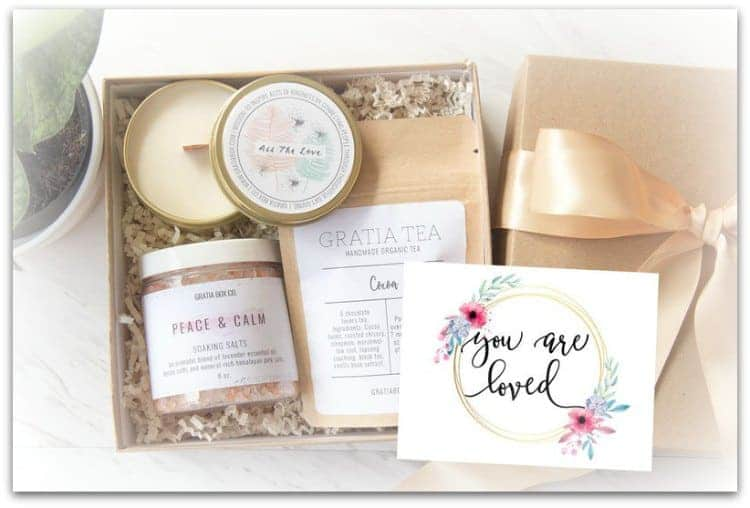 You Are Loved self care box