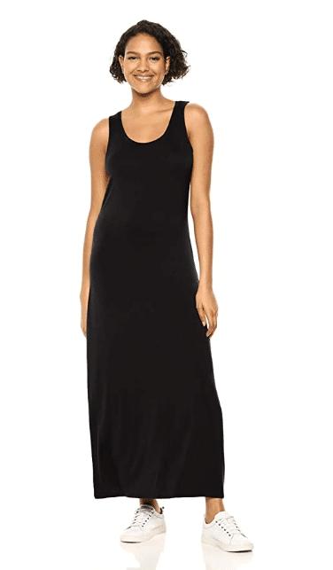 womens tank maxi dress from amazon