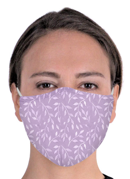 moisture wicking protective fabric face mask from Cool Jams