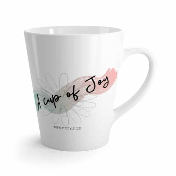 A Cup of Joy Latte Mug