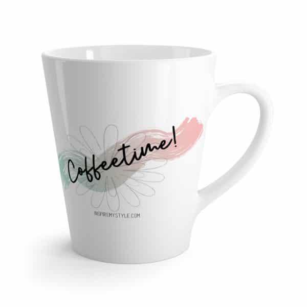 Coffeetime! 12 oz latte mug