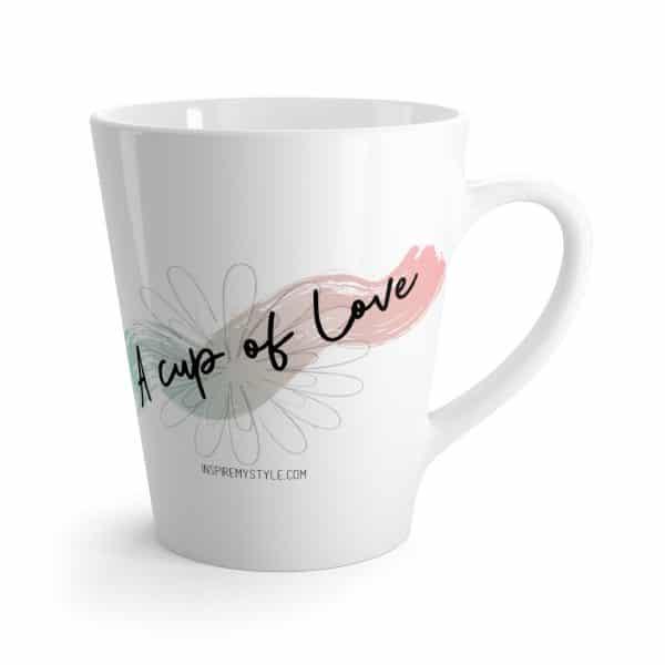 A Cup of Love Latte Mug