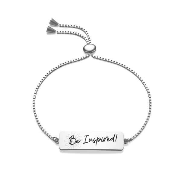 Be Inspired! Box Chain Bracelet