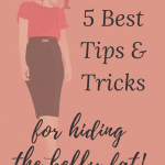 5 best tips and tricks to hide belly fat after 50