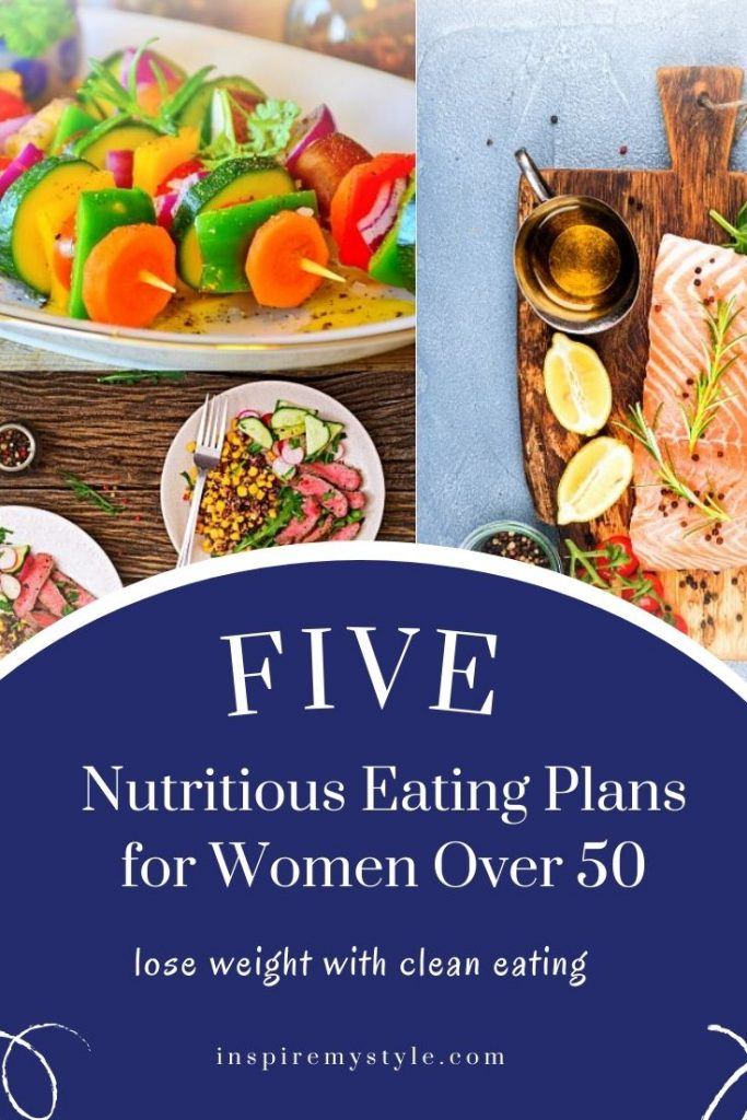 Five nutritious eating plans for women over 50