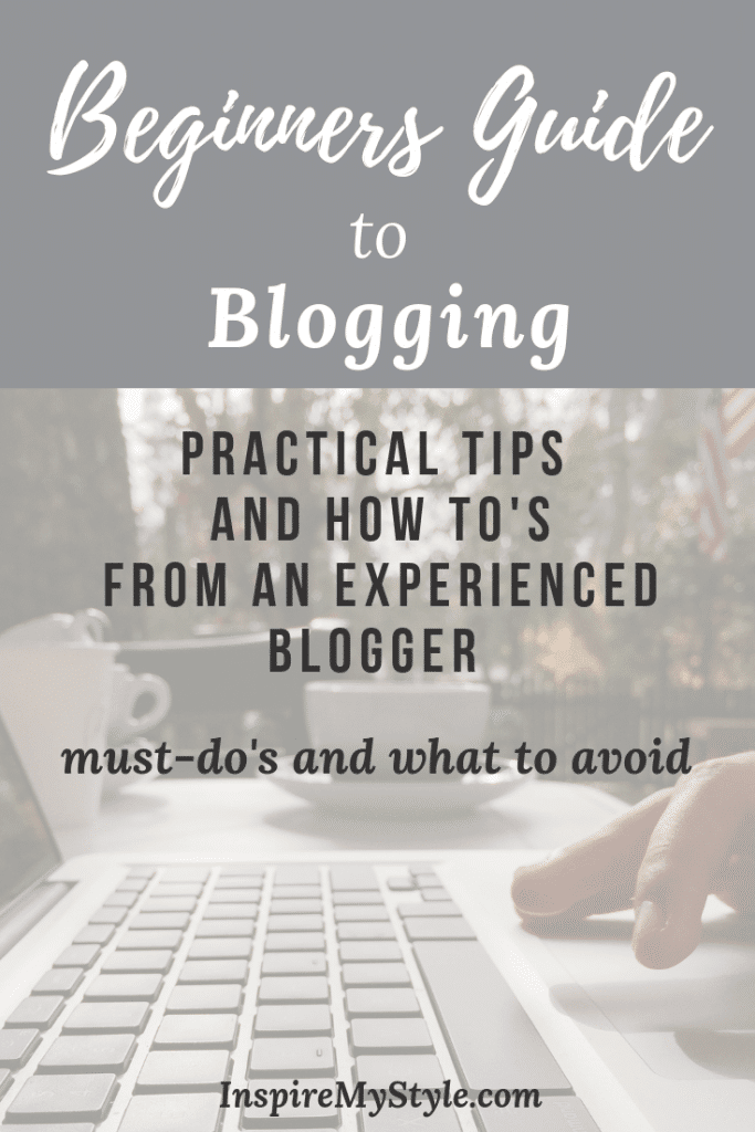 beginners guide to blogging - start a midlife blog