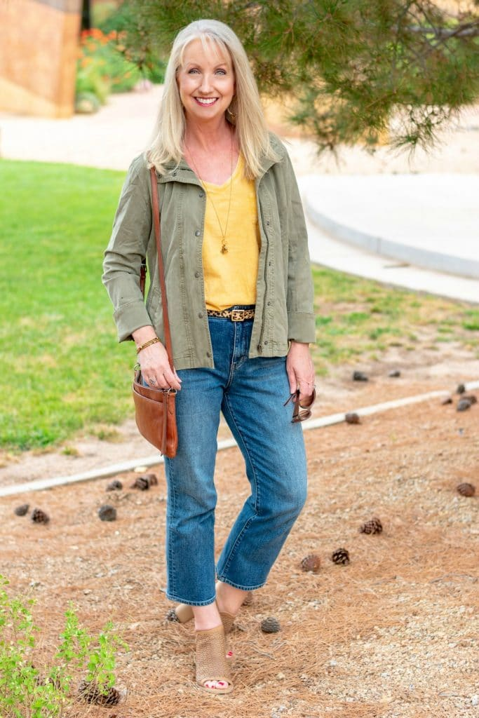 transition to fall with layering pieces