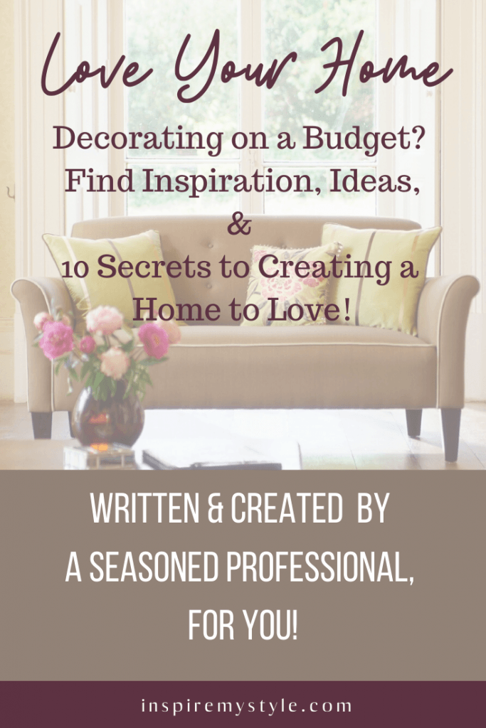 DIY interior decorating eBook for the   budget conscious home decorator