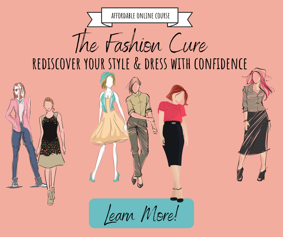 The Fashion Cure affordable email series course for women over 50