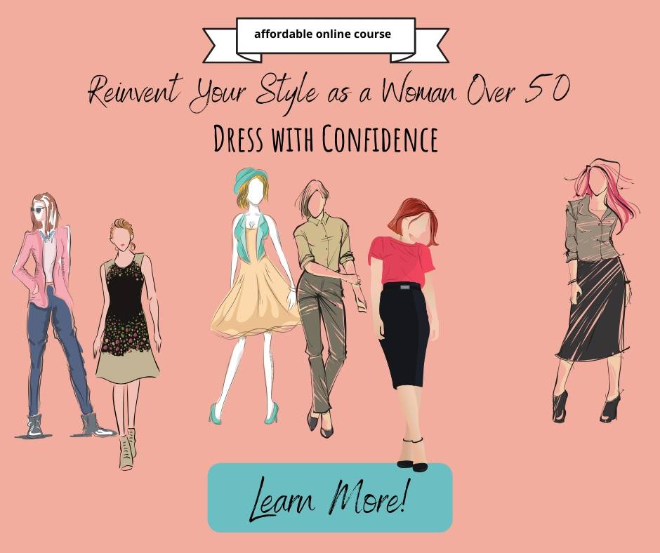 Fashion over 50 - reinvent your style and dress with confidence