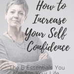How to increase your self confidence after 60
