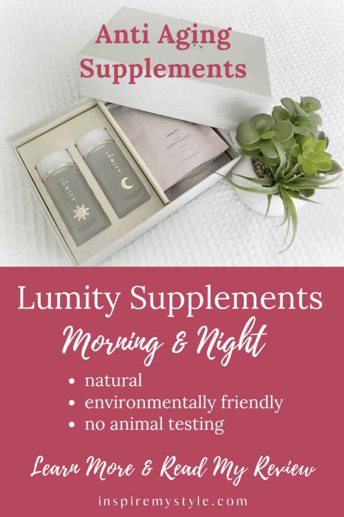 Lumity vitamins morning and night supplements