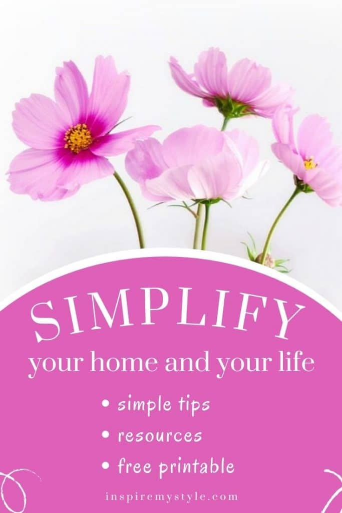 downsize and simplify your life