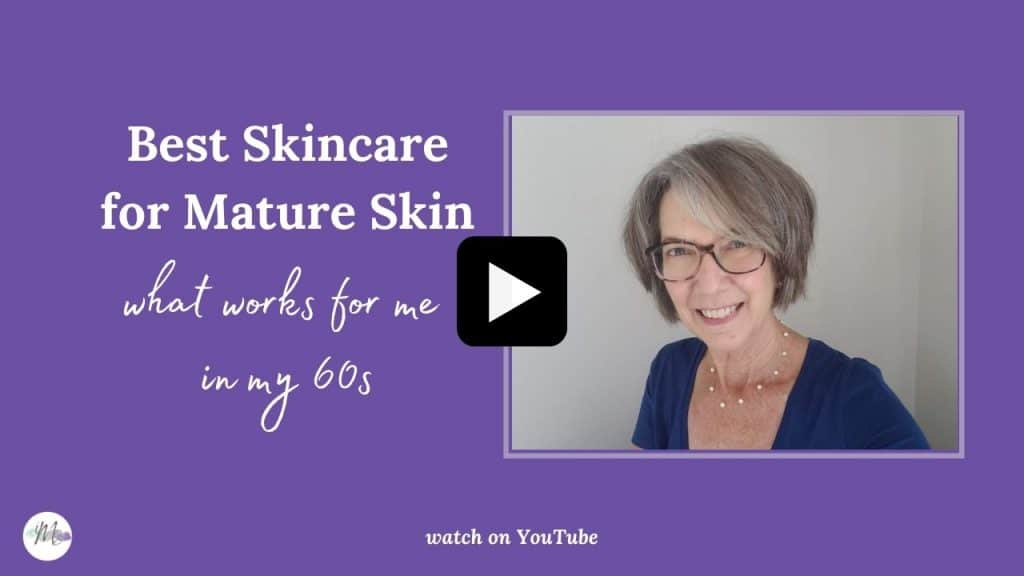 best skincare for mature skin video