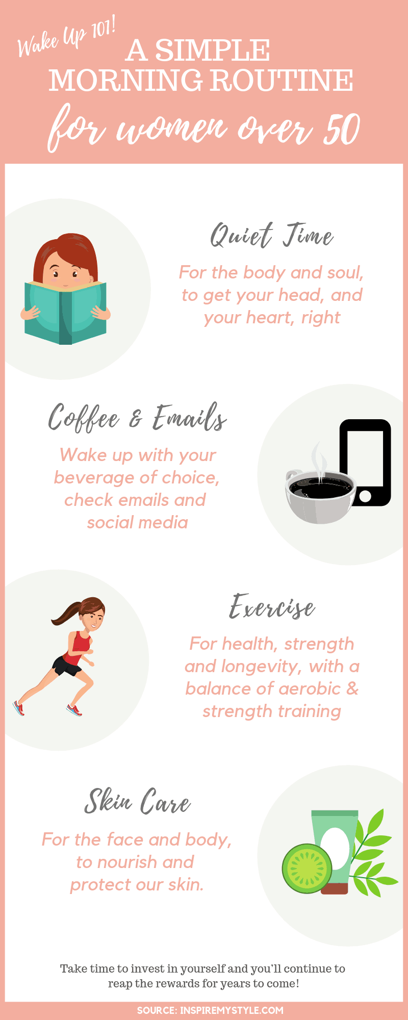 Simple Morning Routine for Women