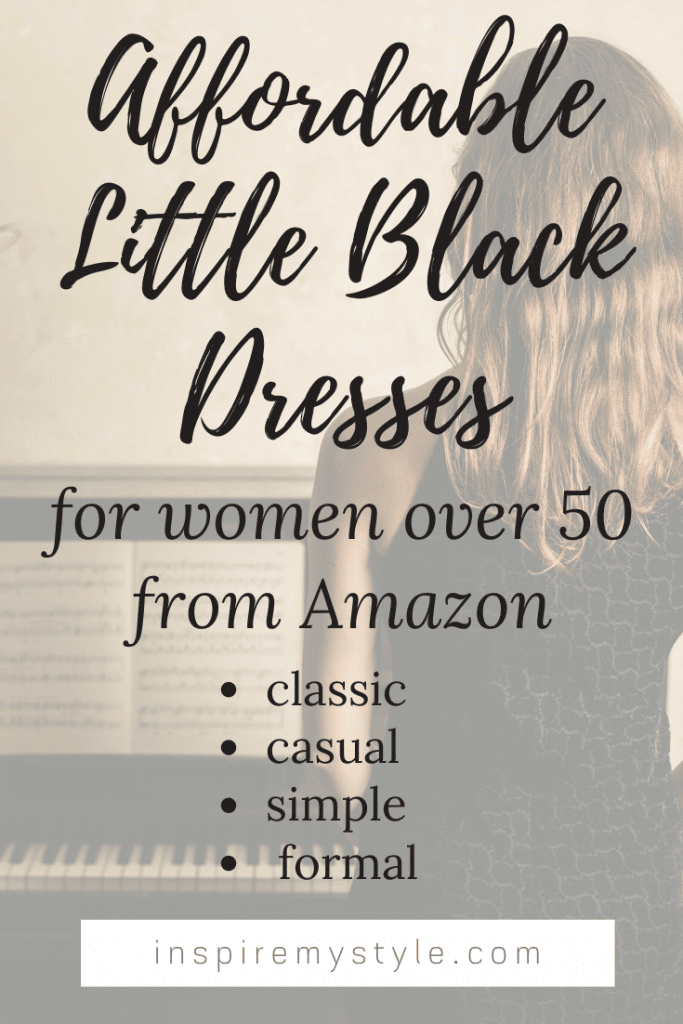 affordable little black dresses from Amazon