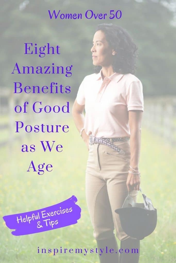 8 amazing benefits of good posture as we age