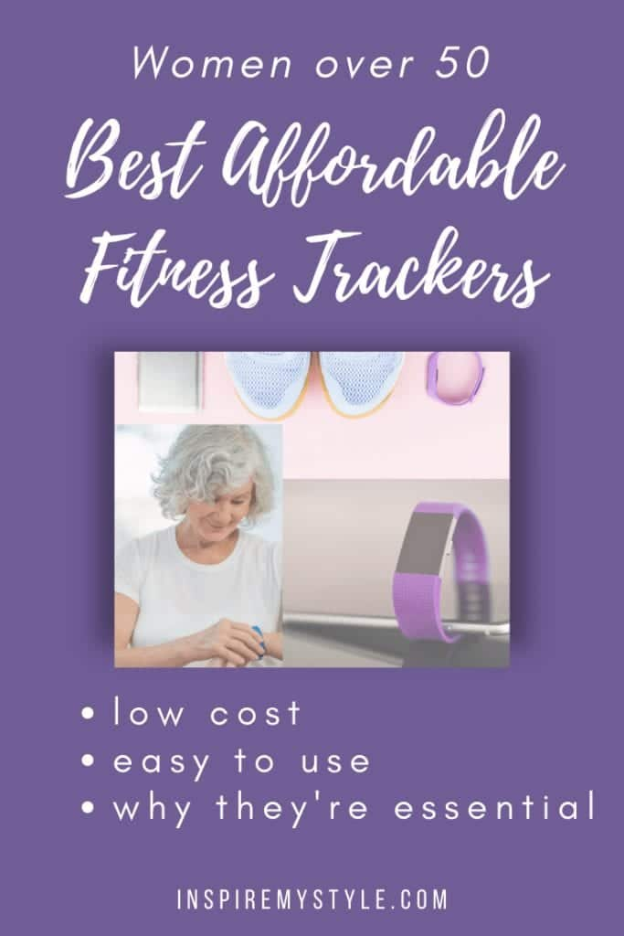 best affordable fitness trackers for women over 50