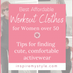 best affordable workout clothes for women over 50