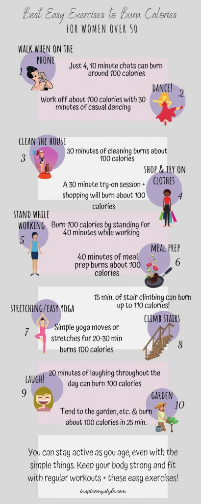 How to burn up to 100 calories doing everyday activities