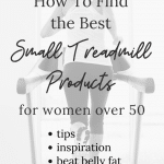 best small treadmill products for women over 50