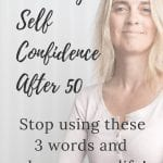 building self confidence after 50