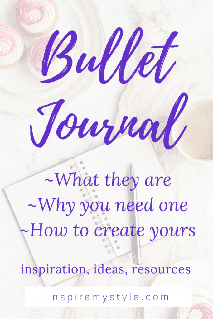 bullet journaling 101 - what it is, why you need one, how to create yours