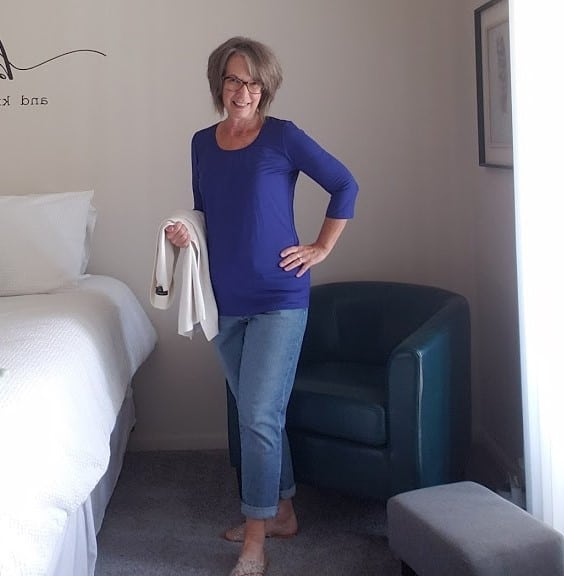 figure flattering tops from Covered Perfectly