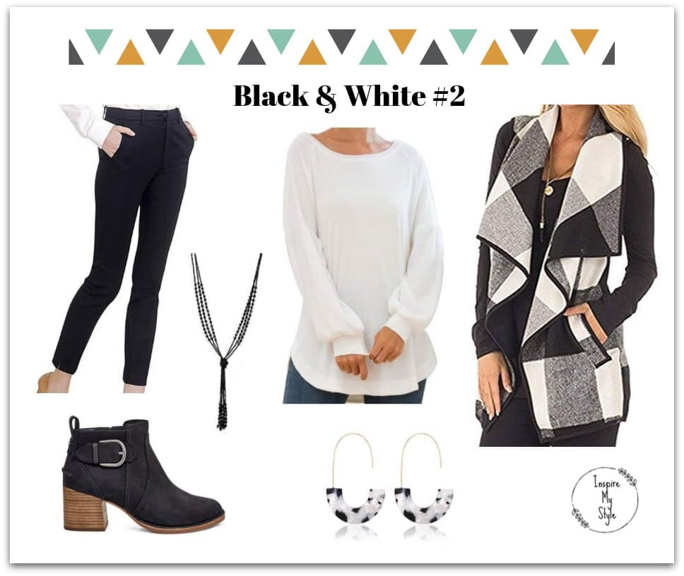 cute casual winter outfit for women over 50