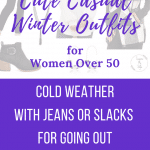 cute casual winter outfits for women over 50