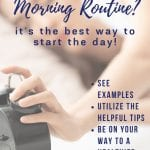 healthy morning routine list