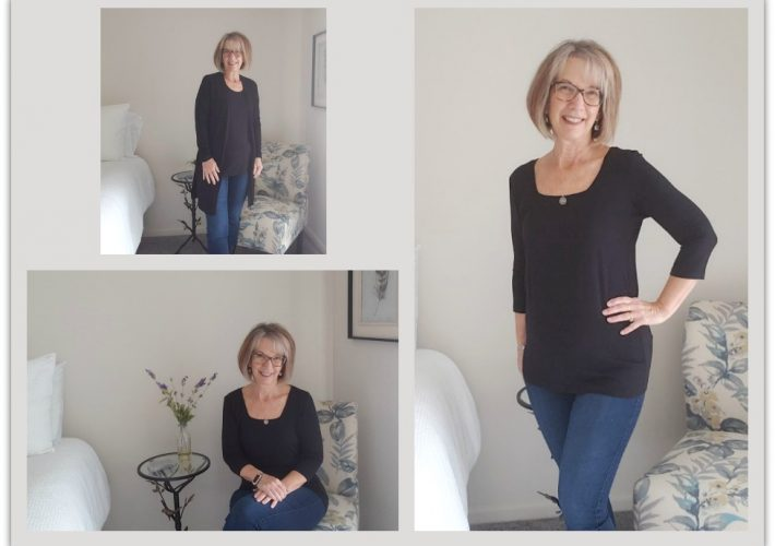 how to dress to hide belly after 50